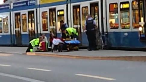 Lochergut: Tram ist mit Velo zusammengestossen