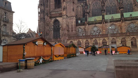Nach dem Terroranschlag in Strassburg bleibt der Weihnachtsmarkt am Mittwoch geschlossen
