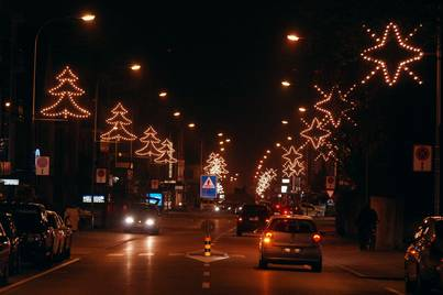 Stern Weihnachtsbeleuchtung.Weihnachtsbeleuchtung In Wettingen