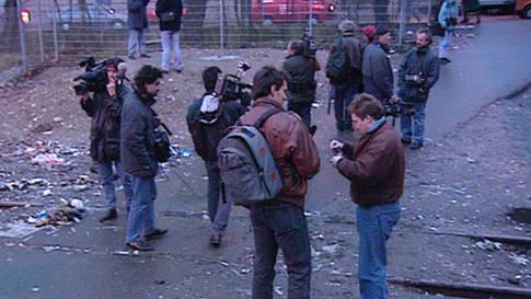 «Kein Fixer weit und breit»: Warum sich die Journalisten bei der Letten-Räumung gegenseitig interviewten