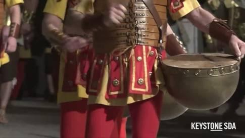 Historisches Spektakel: Die Osterprozession in Mendrisio
