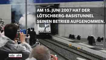10 Jahre Lötschberg-Basistunnel