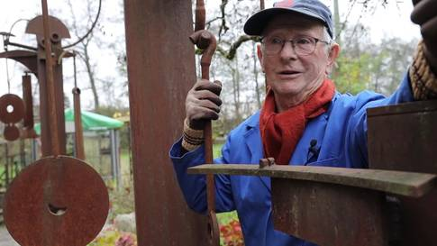 Metallbau-Künstler Franz-Josef Bobst aus Horriwil: «Ich kann nicht sein ohne Kunst»