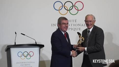Auszeichnung für erste ausserirdische olympische Spiele