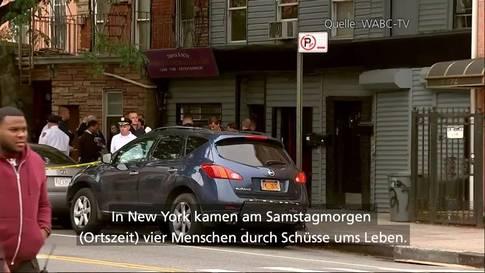 Vier Tote durch Schüsse in Brooklyn