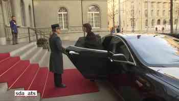 EU-Kommissionspräsident Juncker ist in Bern eingetroffen