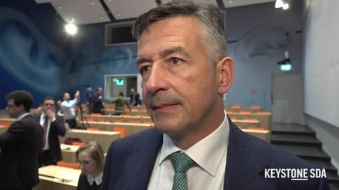 """Hans Wicki: """"Meine Nomination freut nicht nur mich, sondern auch meinen Kanton"""""""
