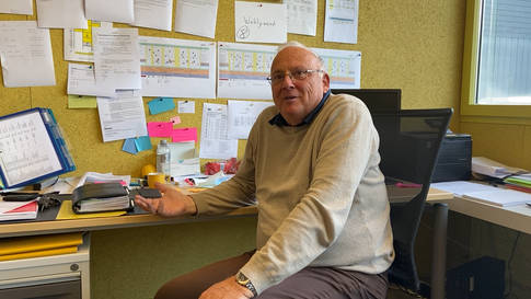 Lehrer Rolf Stadler zieht nach 45 Jahren an der Wohler Bünzmatt-Schule Bilanz