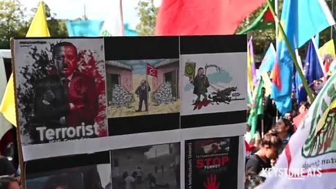 Zürich: Kurden-Demo gegen türkische Angriffe