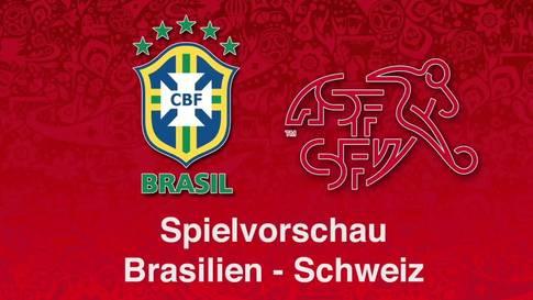 Spielvorschau: Hat die Schweiz eine Chance gegen Brasilien?