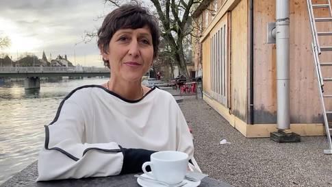 Moderatorin Monika Schärer: «Die Leute sind sehr diszipliniert»