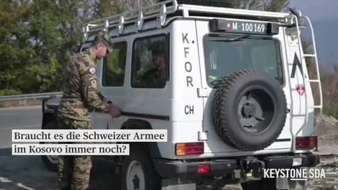 Soll die Schweizer Armee im Kosovo präsent bleiben?