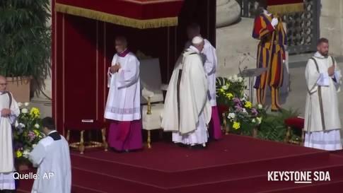 Schneiderin aus dem Kanton Freiburg vom Papst heilig gesprochen