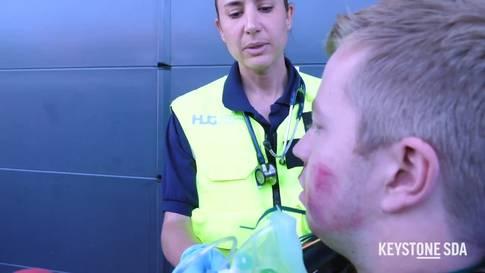 Binationale Übung von Rettungsdiensten in Genf