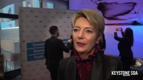 """Karin Keller-Sutter: """"Ich bin sehr dankbar"""""""