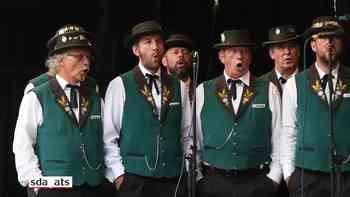 Eidgenössisches Jodlerfest in Brig eröffnet
