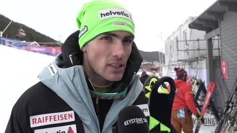 Ski-WM: Daniel Yule ist trotz Fehler zufrieden mit dem Lauf