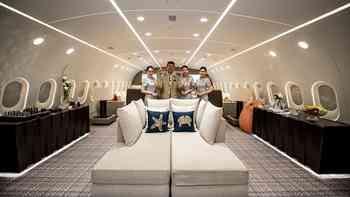 Willkommen an Bord! Werfen Sie einen Blick in den grössten Luxusjet der Welt