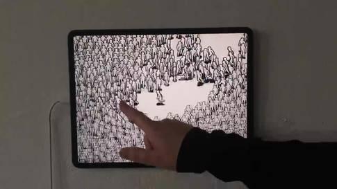 Der Animationsfilm ist im Rahmen des Future-Lap im Künsterhaus zu sehen