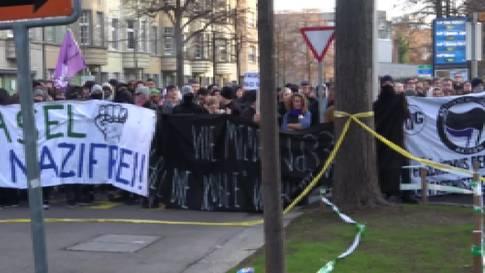 Video-Aufnahmen «Basel Nazifrei»-Demo von 2018