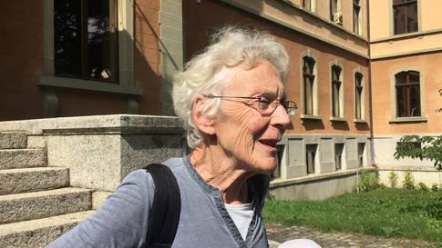 Kein Freispruch für Flüchtlingshelferin Anni Lanz