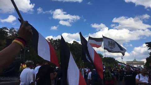 Corona-Demos 29 August 2020 Berlin