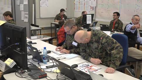 Schweizer Behörden üben den Umgang mit Terrorismus