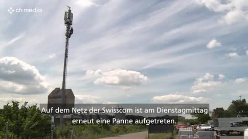 Ausser Betrieb: Swisscom hatte schon wieder eine Telefon-Panne