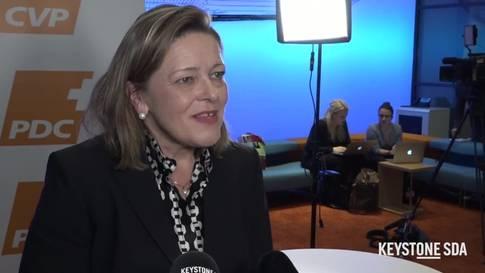Heidi Z'graggen: Vom Bergkanton in den Bundesrat