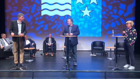 Podium Regierungsratskandidaten: Das fünfte Duell - Guyer gegen Egli
