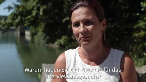 Sarah Koch, Leiterin Wirtschaftsförderung Kanton Solothurn, im Interview für das Projekt «SommerSpass»