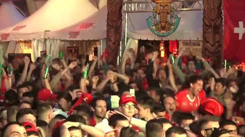 WM: Jubel bei den Schweizern - lange Gesichter bei den Serben