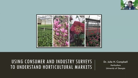 Thumbnail for entry Horticulture Seminar - Julie Campbell