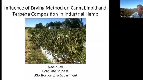 Thumbnail for entry Horticulture Seminar - Noelle Joy
