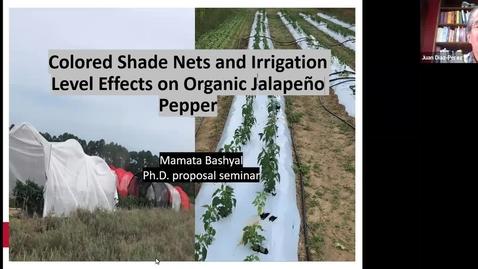 Thumbnail for entry Horticulture Seminar - Mamata Bashyal