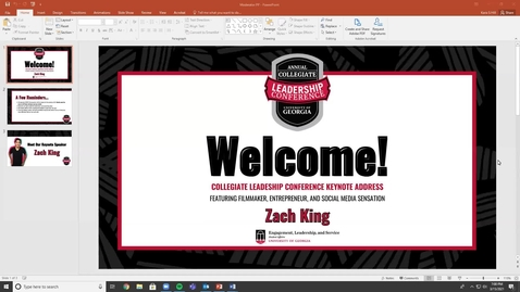 Thumbnail for entry 2021 CLC Keynote: Zach King