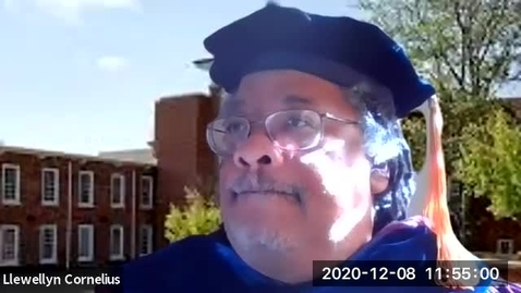 Thumbnail for entry Llewellyn Cornelius' Message to Graduates