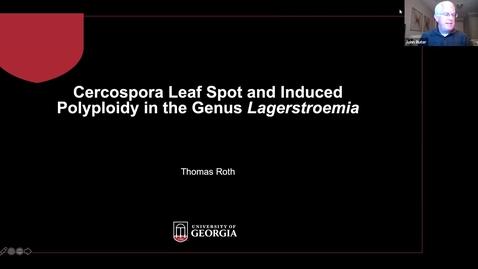 Thumbnail for entry Horticulture Seminar - Thomas Roth 3/18/21