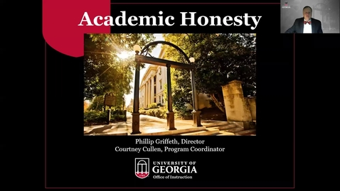 Thumbnail for entry Academic Honesty