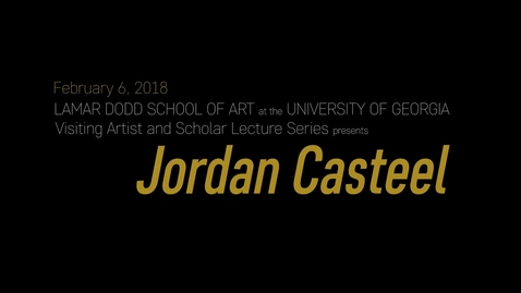 Thumbnail for entry VAS Lecture: Jordan Casteel
