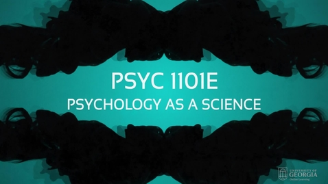 Thumbnail for entry Psychology as a Science