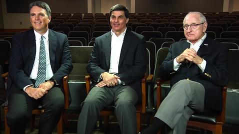 Thumbnail for entry Sugar Bowl Oral History: John Sweeney, Frank Ros, and Coach Vince Dooley