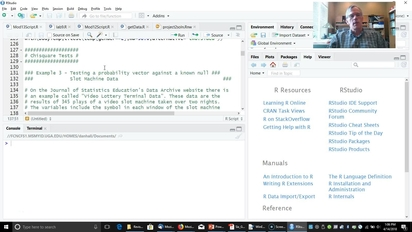 Chi-square Tests in R mp4 - University of Georgia Online