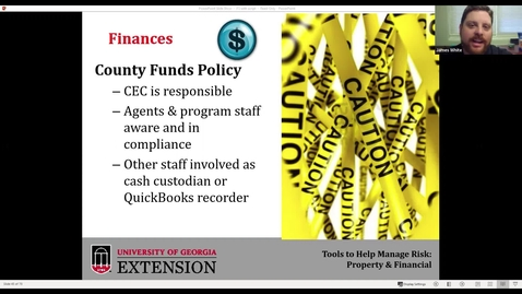 Thumbnail for entry County Funds Policy