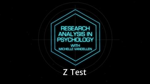 Thumbnail for entry Lightboard: Z Test
