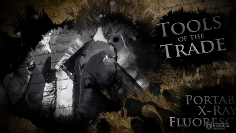 Thumbnail for entry Tools of the Trade - PXRF