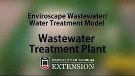 Thumbnail for entry Enviroscape Wastewater-Water Treatment Model - Wastewater Treatment Plant