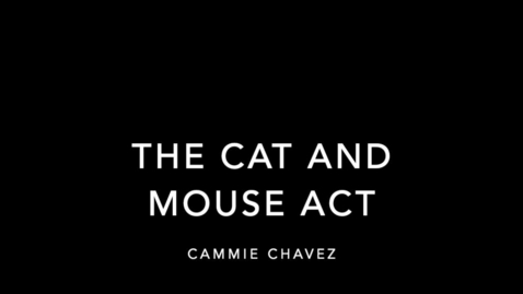 Thumbnail for entry Gallery Highlight: The Cat and Mouse Act