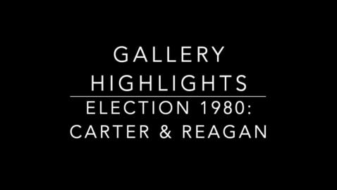 Thumbnail for entry Election 1980: Carter & Reagan