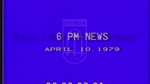 Thumbnail for entry KAUZ-TV news (Wichita Falls, Tex.). 1979-04-10. Evening (6:00 feed)--excerpts | 1a of 1 | 79045nwt